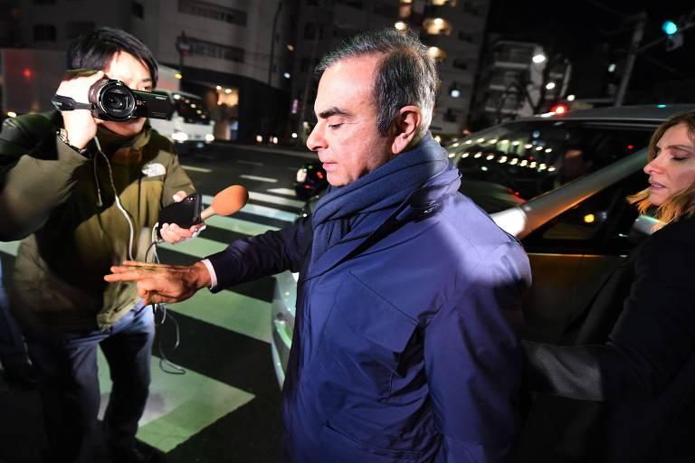 Ghosn se diz inocente e pede ajuda da França após nova prisão