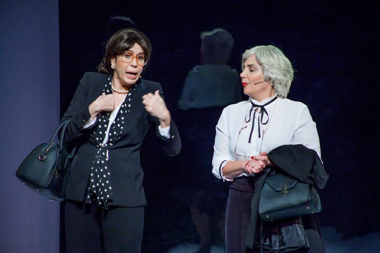Maria Clara Gueiros e Heloísa Périssé em 'Loloucas'