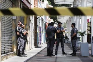 Tentativa de assalto em Guararema (SP)