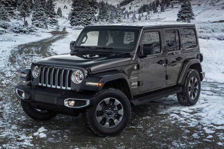 Jeep Wrangler ganha nova geração no Brasil