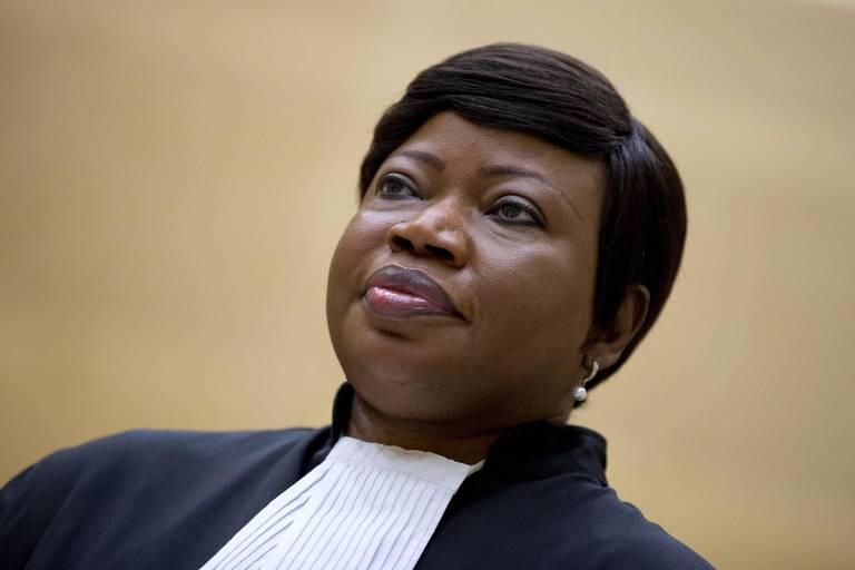 Fatou Bensouda, procuradora do Tribunal Penal Internacional, foi alvo de sanções americanas por causa de investigação que conduz sobre supostos crimes de guerra cometidos pelas forças dos EUA no Afeganistão