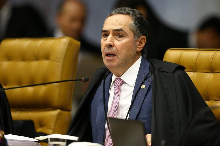 O ministro Luís Roberto Barroso, do STF, que autorizou ação da PF contra o líder do governo no Senado, Fernando Bezerra Coelho (MDB-PE)