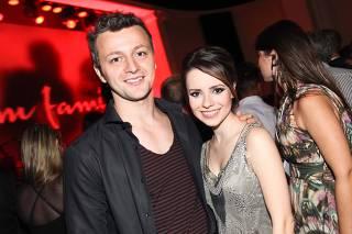 A cantora Sandy e o marido Lucas Lima