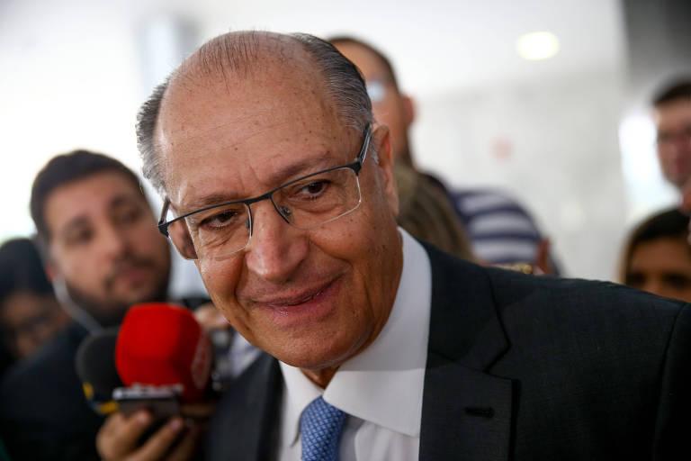 O presidente do PSDB, Geraldo Alckmin, que criticou o governo Bolsonaro durante a Brazil Conference, nos EUA