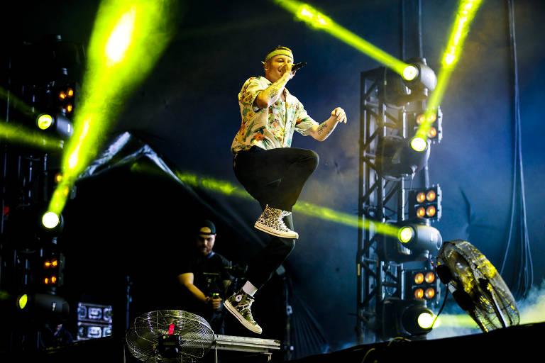 Macklemore se apresenta no primeiro dia de shows do Lollapalooza Brasil 2019