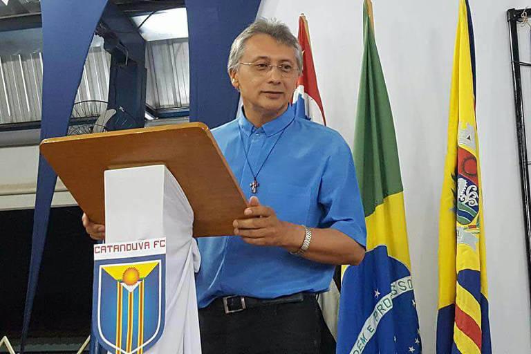 Osvaldo de Oliveira Rosa, presidente fundador, gestor e conselheiro do Catanduva FC