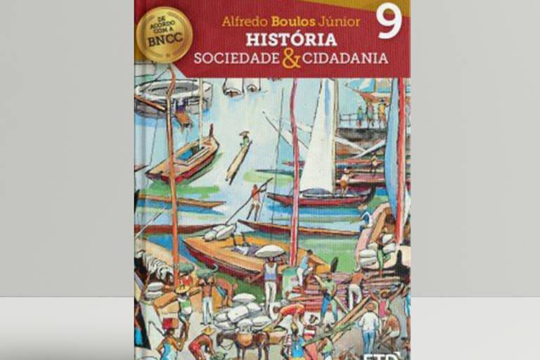 Livros de história mais distribuídos pelo MEC
