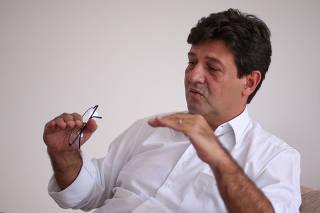 O futuro ministro da Saúde do governo Bolsonaro, Luiz Henrique Mandetta