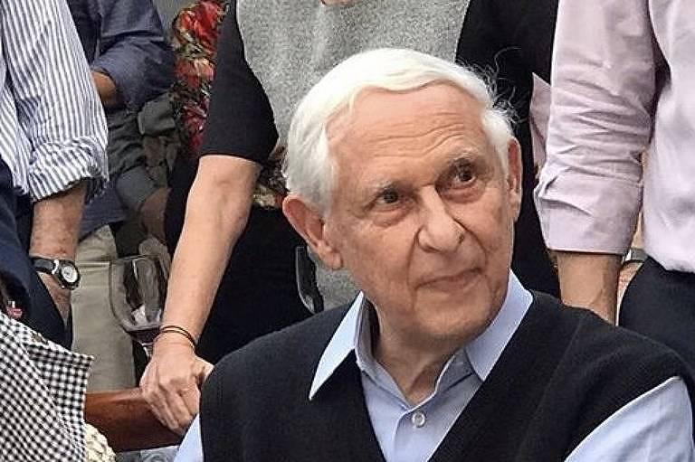 João Gilberto Carazzato no aniversário de 80 anos