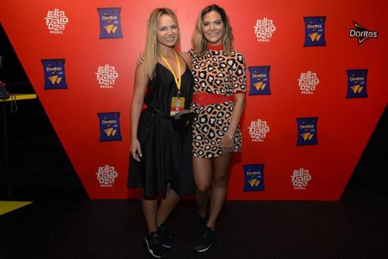 Eliana e Carol Sampaio e outros famosos circulam pelo Lollapalooza 2019 no Segundo dia do festival