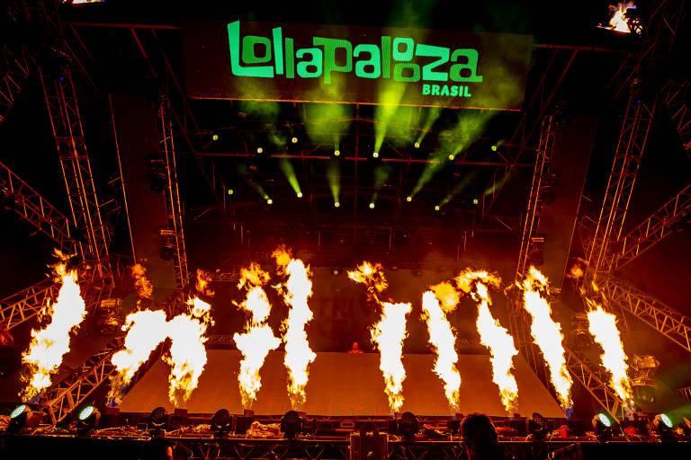 Dimitri Vegas and Like Mike se apresentam no terceiro dia de shows do Lollapalooza Brasil 2019