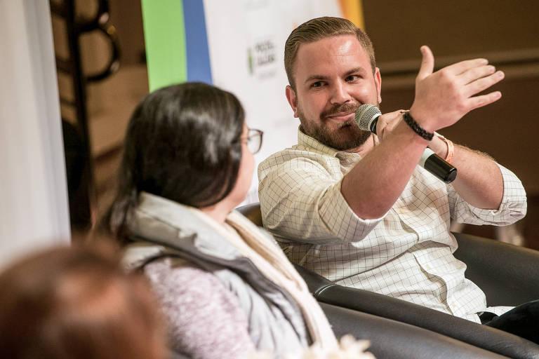 Raphael Mayer, da Simbiose Social, que participa nesta semana do Fórum Mundial da Skoll Foundation