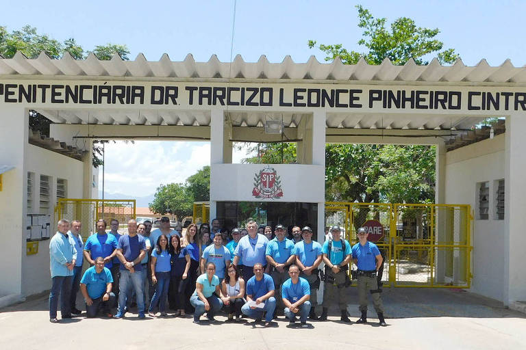 Fachada da Penitenciária 1 de Tremembé, no interior paulista
