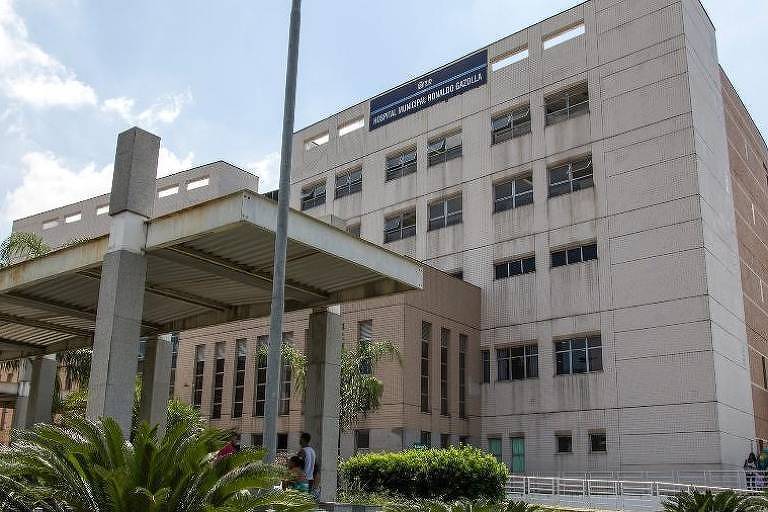 Fachada do Hospital Municipal Ronaldo Gazolla, no Rio
