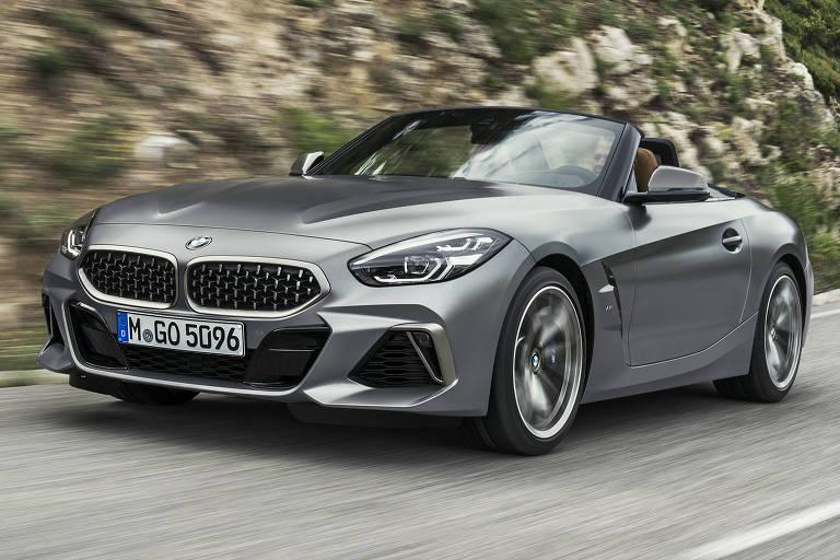 BMW Z4 estreia no Brasil em ação de pré-venda