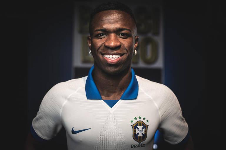 Novo uniforme da seleção brasileira para a Copa América