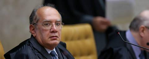 BRASILIA, DF,  BRASIL,  21-03-2019, 14h00: O ministro Gilmar Mendes. Sessão plenária do STF, sob a presidência do ministro Dias Toffoli. (Foto: Pedro Ladeira/Folhapress, PODER)