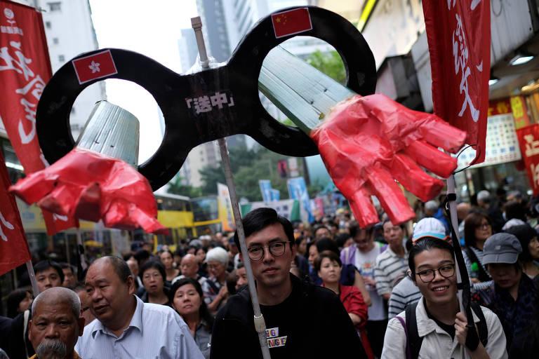 Projeto de lei em Hong Kong quer permitir envio de fugitivos para a China