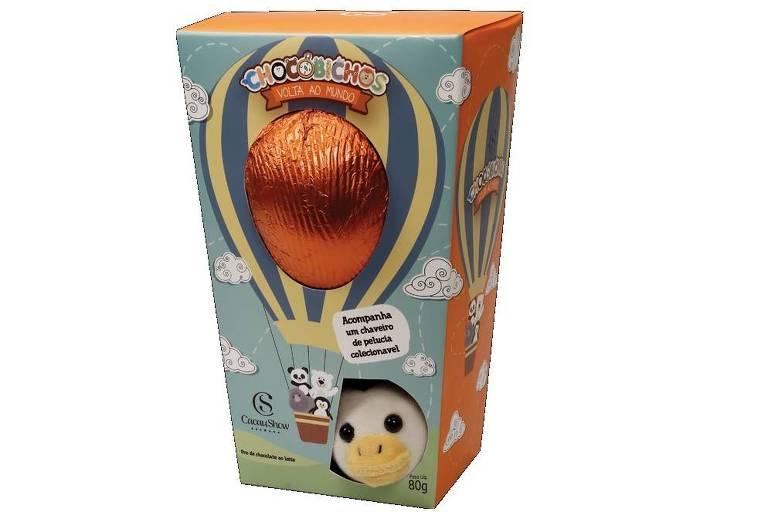 Ovo de Páscoa da Cacau Show não apresenta selo para possível restrição