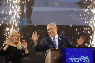 ISRAEL-TEL AVIV-ELECCIONES GENERALES-ENCUESTAS DE SALIDA