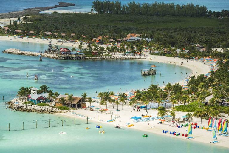 Castaway Cay, a ilha da Disney
