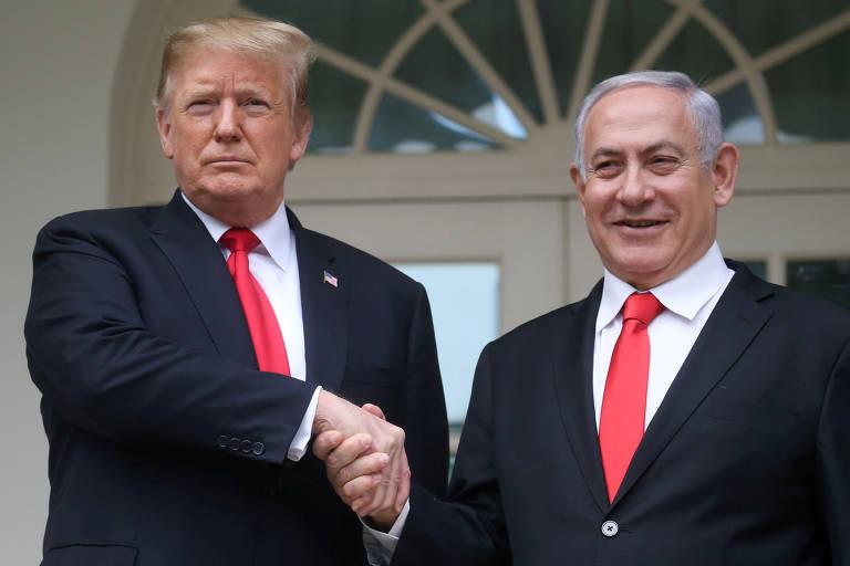 A campanha de Binyamin Netanyahu