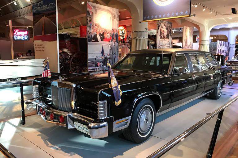 Carros de presidentes dos EUA são expostos no Museu Henry Ford