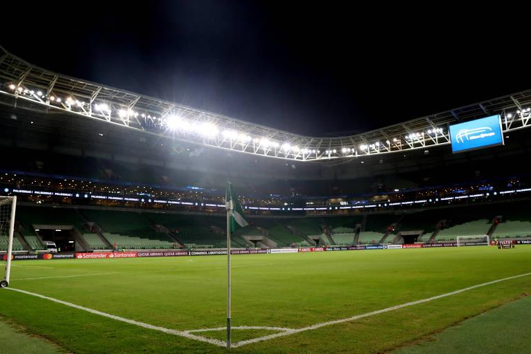 Estádio Allianz Parque, palco do jogo entre Palmeiras e Flamengo pela 36ª rodada do Campeonato Brasileiro