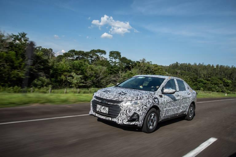 Chevrolet apresenta protótipo de seu novo sedã
