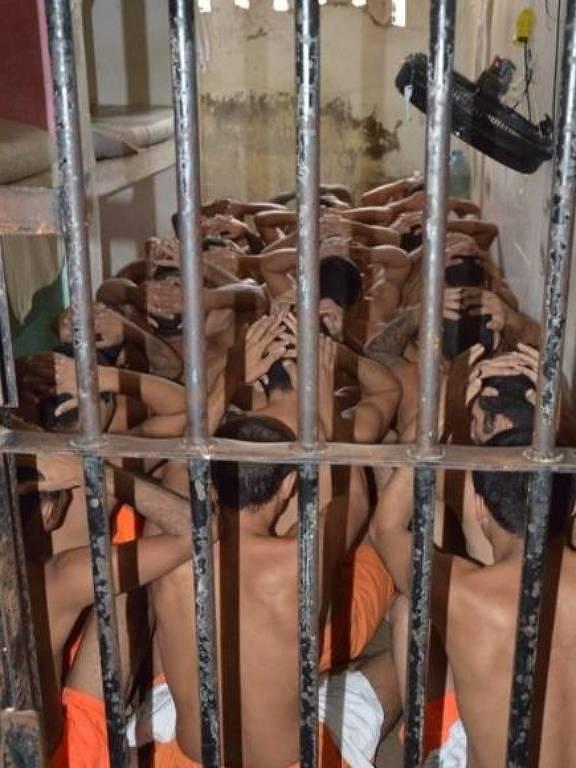 Cadeia sem identificação visitada pelo Mecanismo de Prevenção e Combate à Tortura no Ceará
