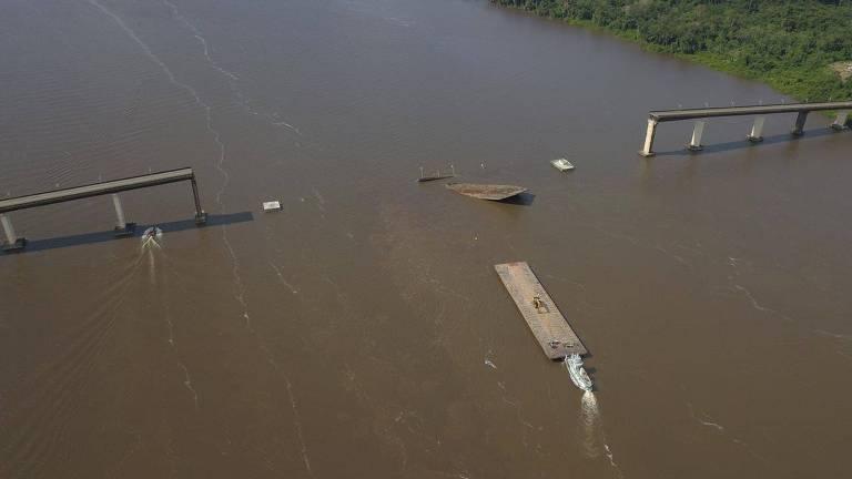 Ponte cai no Pará