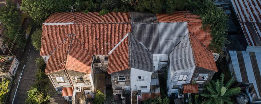 Parte do conjunto de casas dos anos 1930 que moradores procuram preservar na Vila Mariana