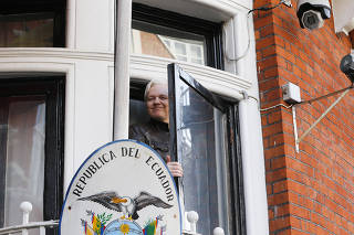 REINO UNIDO-LONDRES-JULIAN ASSANGE-ARRESTO