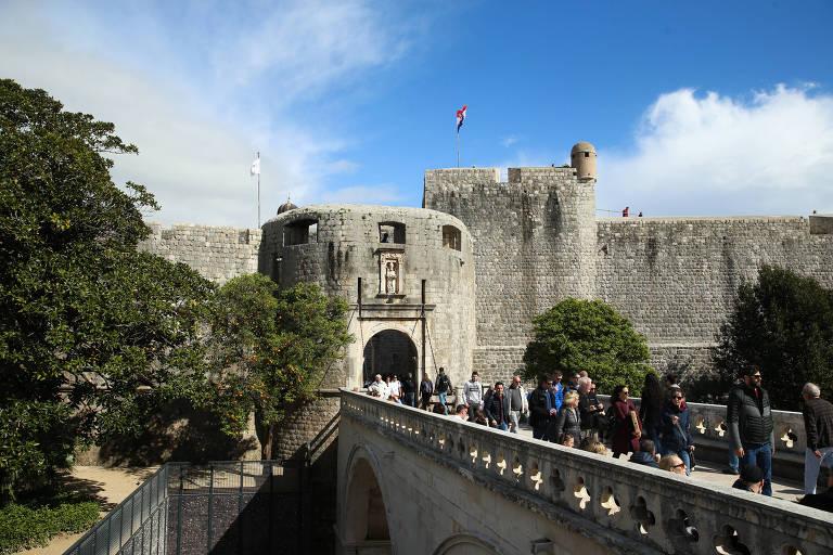 Cidade de Dubrovnik, cenário de Game of Thrones
