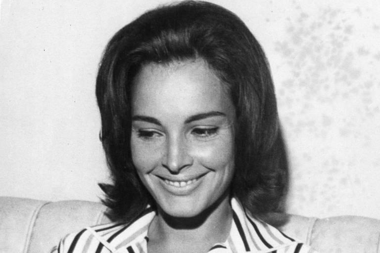 Maria Thereza Goulart em 1963, quando era primeira-dama do Brasil