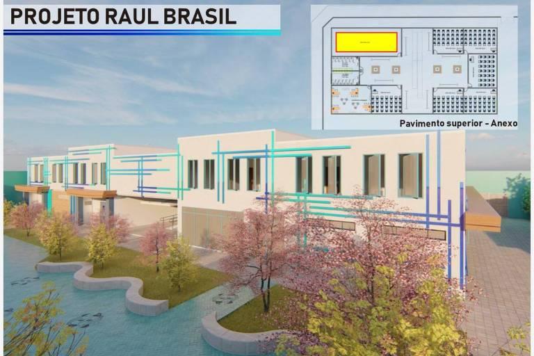 Projeto coloca cria jardim de cerejeiras na Raul Brasil, em Suzano (SP)