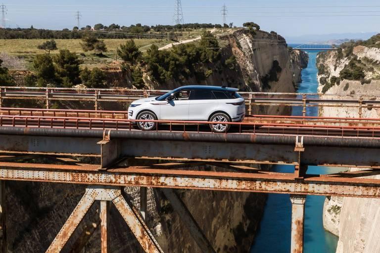 Land Rover ganha o asfalto com nova geração do Evoque