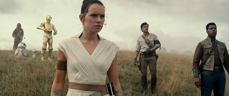 Cena do filme 'Star Wars: A Ascensão Skywalker'