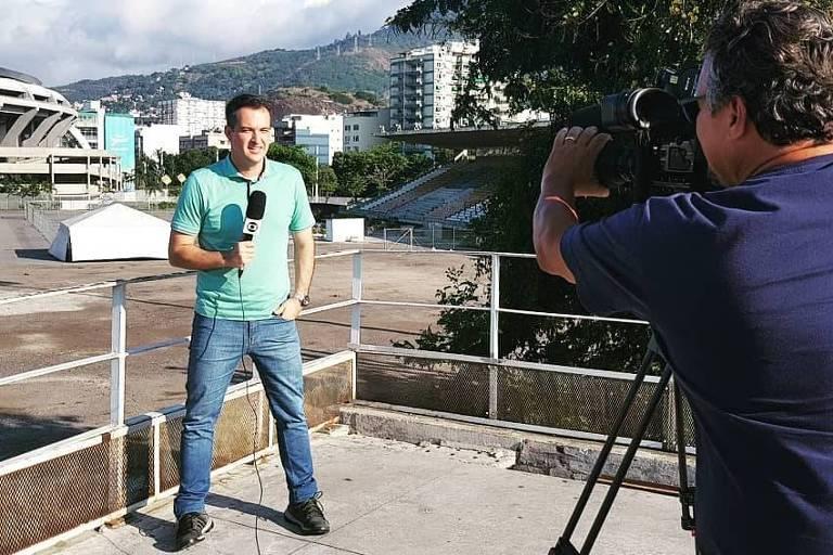 Repórter Edson Viana