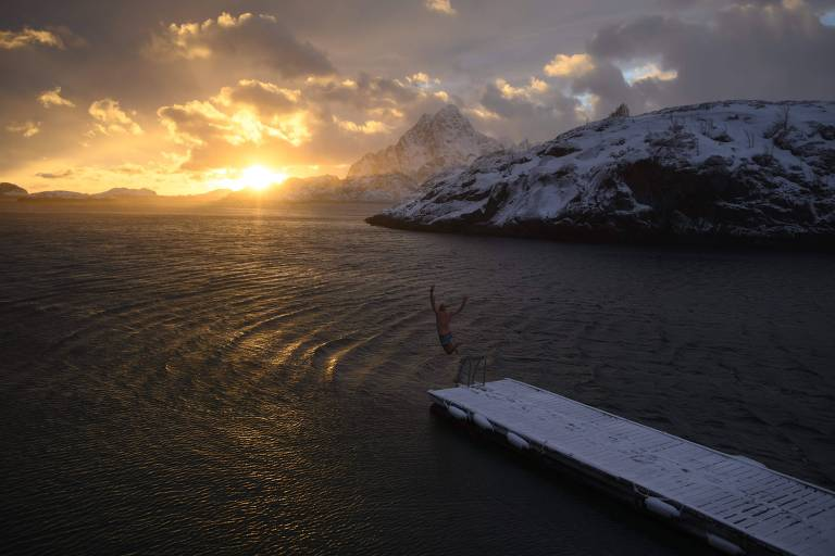 Pelo clima, jovens da Noruega querem parar petroleiras