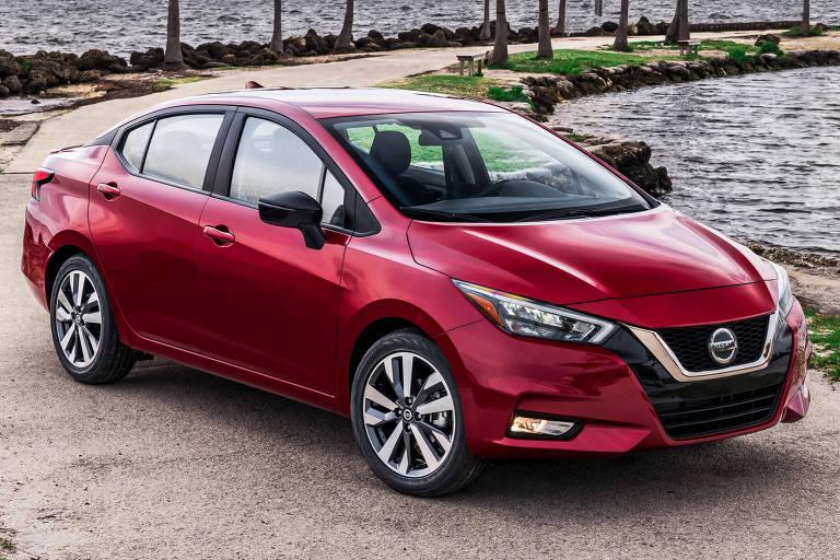 Novo Nissan Versa é apresentado nos EUA