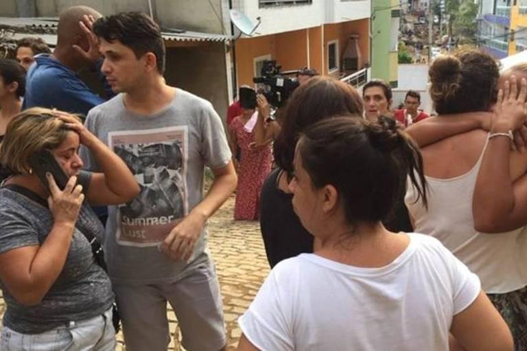 Família de Raimundo Nonato do Nascimento se consola após confirmação da morte do parente