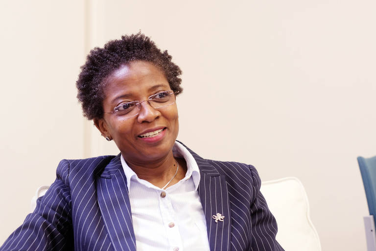 A nigeriana Funmi Olonisakin, vice-presidente do African Leadership Centre, em Londres