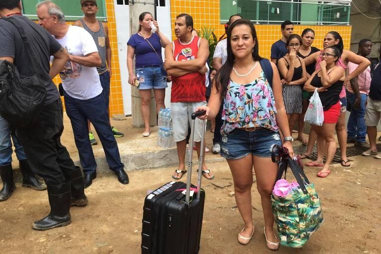 Maira Lima Vieira, advogada e professora universitária, moradora de prédio vizinho