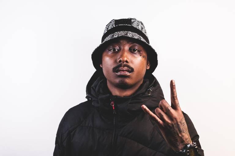 O rapper francês Guizmo