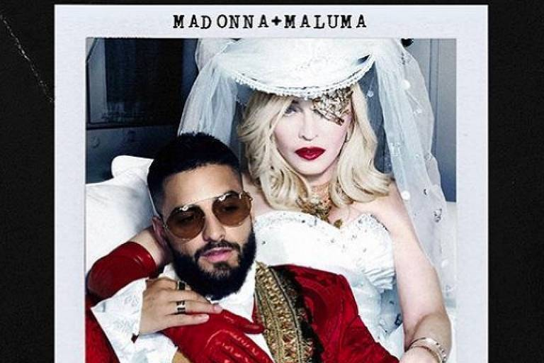 Madonna canta com Maluma em 'Medellín', single do álbum 'Madame X'