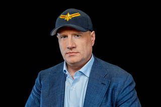 Producer Kevin Feige poses for a portrait for Captain Marvel in Beverly Hills