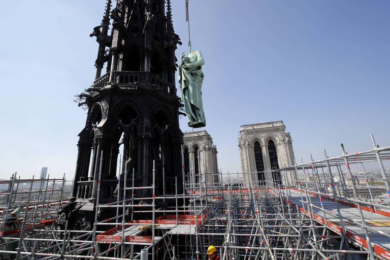 Incêndio na Catedral Notre Dame