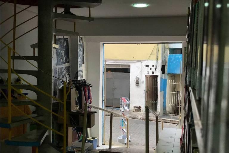 A Biblioteca Comunitária de Heliópolis, na zona sul de São Paulo, que recebeu aportes da Cushman & Wakefield por meio do Pro-Mac