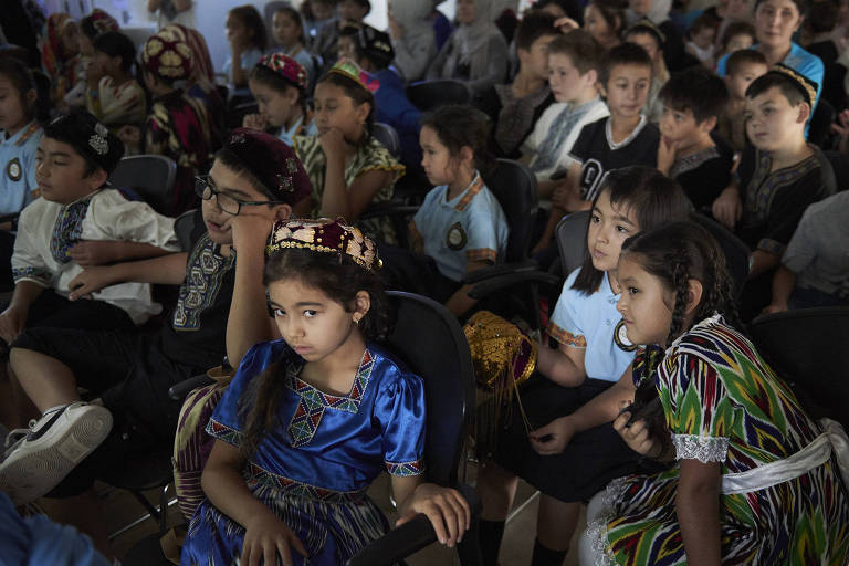 Children attend an Uighur language school in Gilles Plains, a suburb where many of Australia?s Uighur Muslims live, in Adelaide, Australia, March 22, 2019. Members of the Uighur ethnic group want their adopted homeland to take action over China?s internment camps, into which many of their loved ones seem to have disappeared. (Christina Simons/The New York Times)